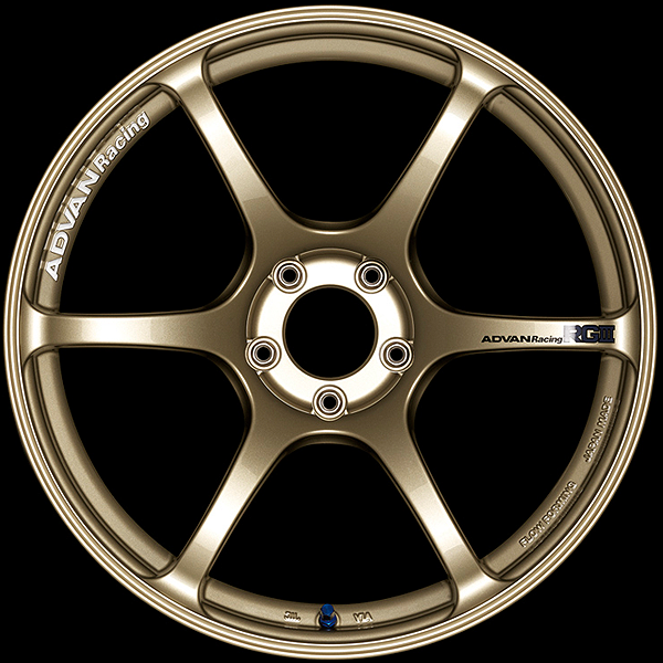 Advan диски RGIII Racing Gold Metallic
