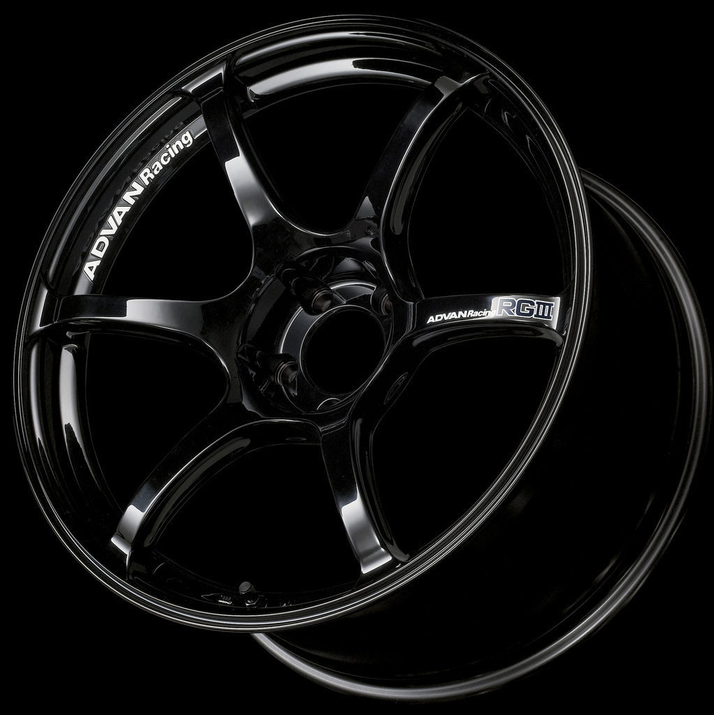 Advan Racing RGIII Racing Gloss Black