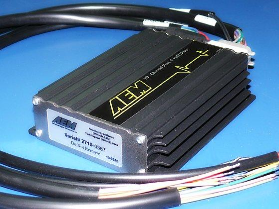 AEM 10 Channel Peak & Hold Injector Driver