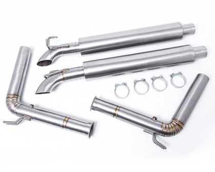 Agency Power Full Titanium Exhaust System SRT