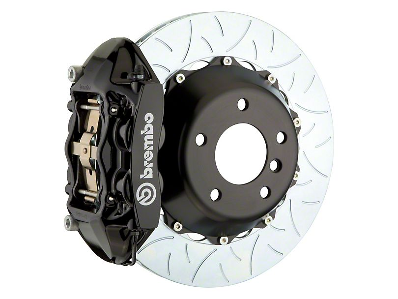 Brembo GT Series 4-Piston Rear Big Brake Kit (Black) SRT8