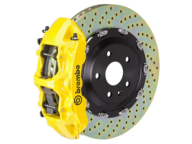 Brembo GT Series 6-Piston Front Big Brake Kit (Yellow) SRT8