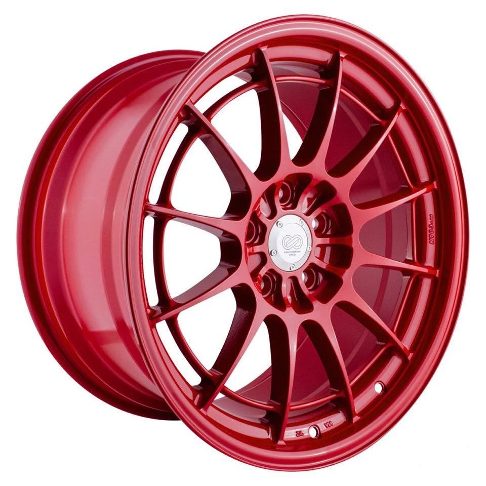 Enkei NT03+M Competition Red Wheel 18x9.5 +40 5x100