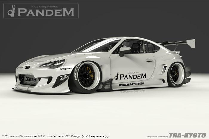 Greddy Pandem x Rocket Bunny Version 3 Kit GT86