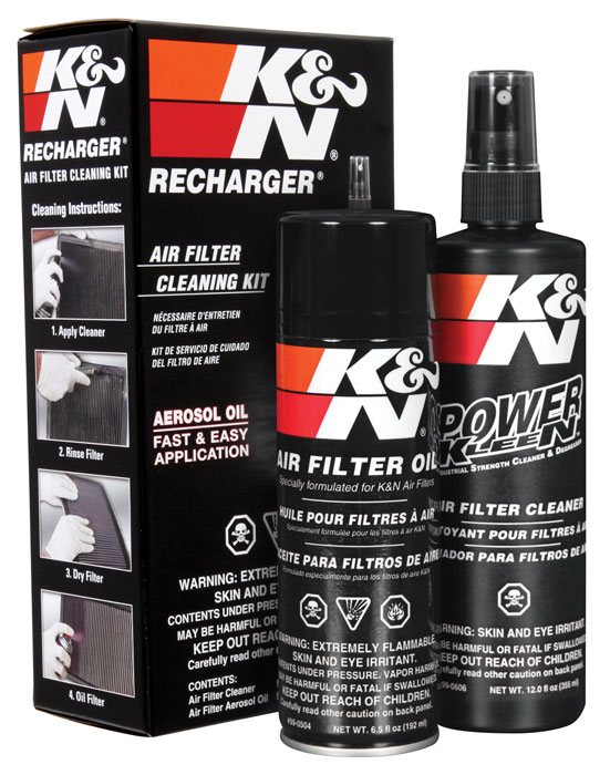 K&N Filter Cleaner Kit