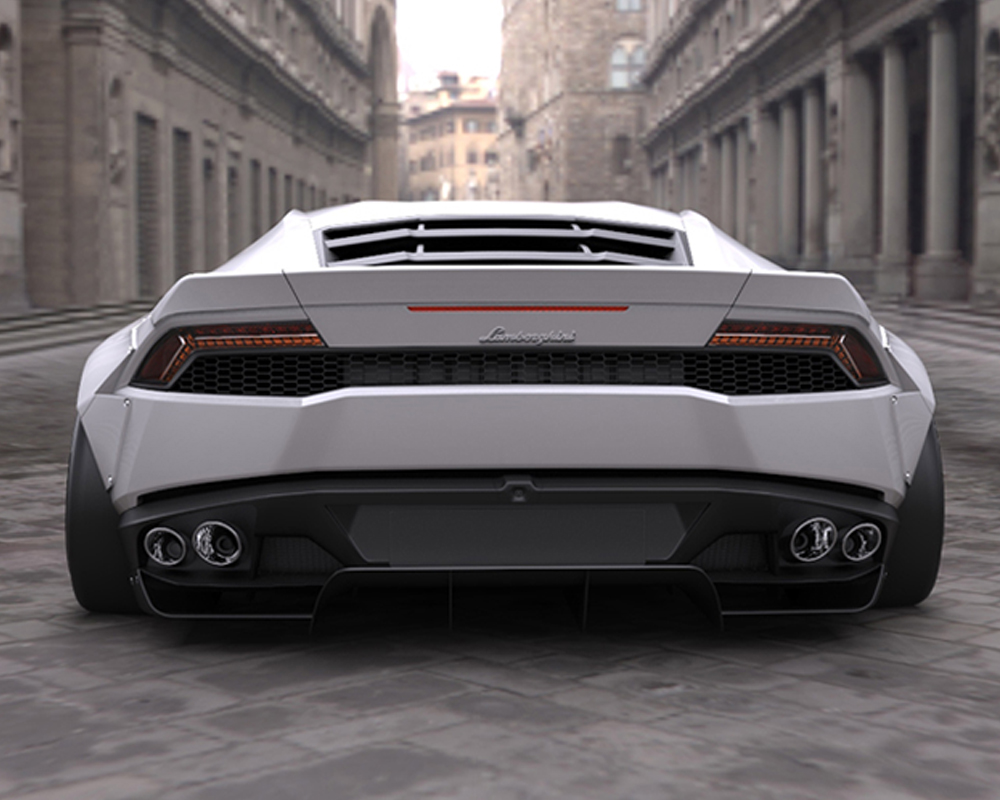 LIberty Walk Rear Wing Version I Huracan 15-18