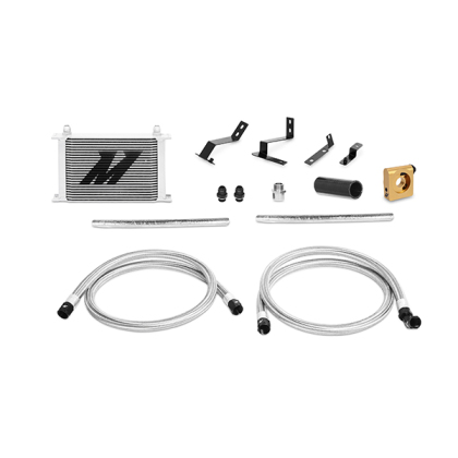 Mishimoto Thermostatic Oil Cooler Kit Silver Camaro