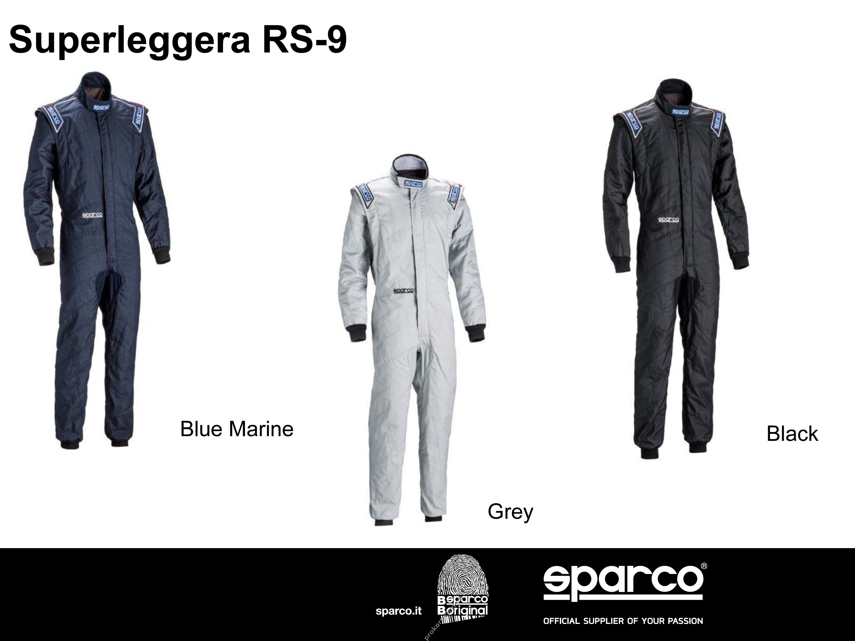 Sparco Комбинезон SUPERLEGGERA RS-9